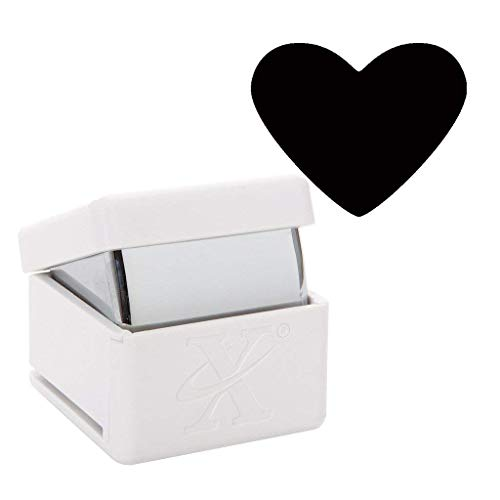 Xcut Handheld Paper Card Shape Craft Cutter Large Palm Punch - Traditional Heart