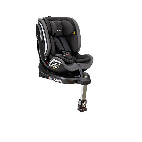 Interbaby Se006-31 - Silla Coche Ares 0 1 2 3 360º Isize, Unisex, Gris