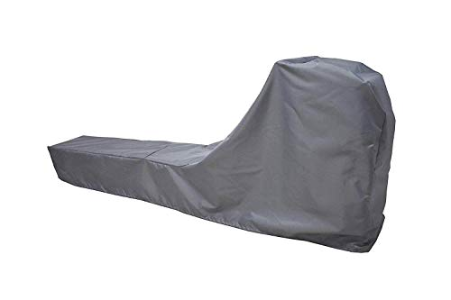 Rowing Machine Cover, Fitness Equipment Covers Protective Cover Dustproof Waterproof Cover and Water-Resistant Stationary Fitness Fabric Ideal for Indoor Or Outdoor use(Gray) by Mini Lustrous