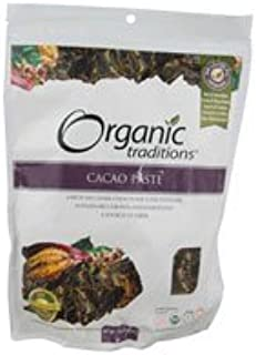 Organic Traditions Cacao Paste - 16 oz
