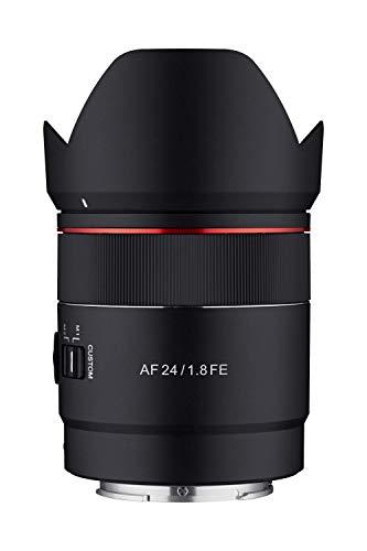 Samyang 24mm F1.8 AF Compact Full Frame Gran Angular para Sony E, Negro (SYIO2418-E)
