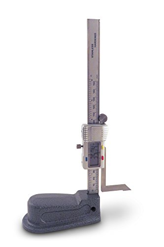 "Taytools 0-6"", 0-150 mm, Digital Height Gauge, Electronic Height Gauge, 0.0005"" Resolution DHG"