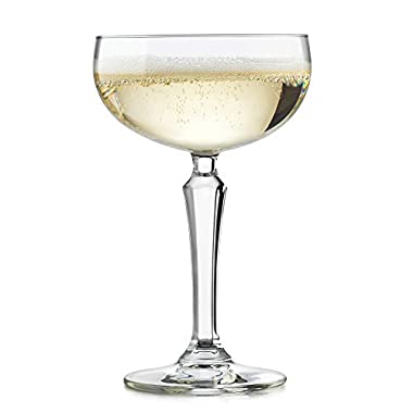 Libbey Speakeasy Coupe Cocktail Glass, 8.6-ounce, Set of 4