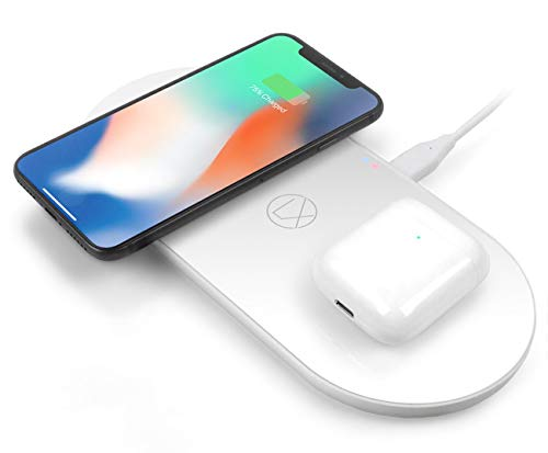 Wireless Charging Station 3 in 1 for iPhone 8/x/SE/11/12 Airpods Galaxy Note S8/9/10/ and All Other...