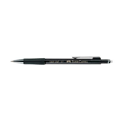 Faber-Castell 134799 - Druckbleistift GRIP, Minenstärke: 0,7 mm, Schaftfarbe: schwarz-metallic