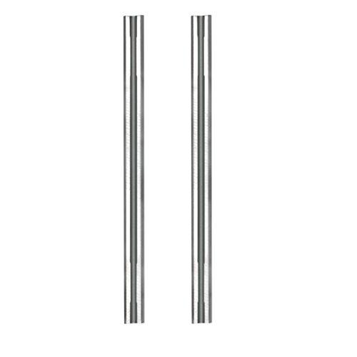 Sidamo - Blister 2 fers réversibles 92 x 5,5 x 1,1 mm - Carbure - 400404 - Sidamo