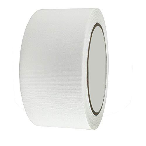 Buchbinder-Reparatur-Klebeband, 5,1 cm, für Buchbinder, 13,7 m pro Rolle (weiß)