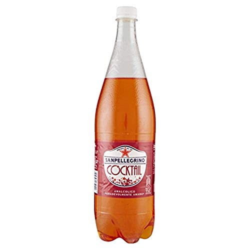 12 X San Pellegrino Pet bottiglia 1,25 L cocktail Ginger Bitter alkoholfrei Zenzero