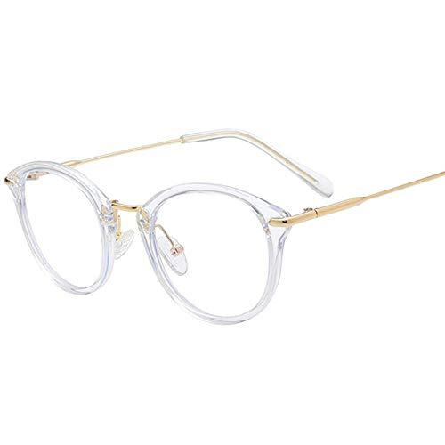 xzczxc Blue Light Blocking Glasses Women Men Anti Blue Rays Computer Gaming Eyewear Uv400 Transparentgold