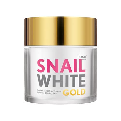 50ml - SKIN CREAM SNAIL GOLD - Kem Duong Tre Hoa - Trang Da Snail Gold...