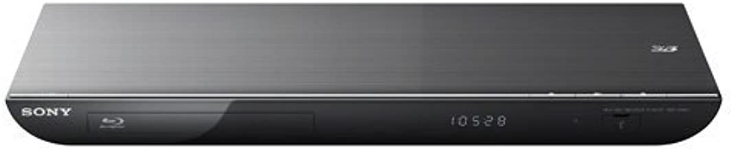 Sony BDP-S590 3D Blu-ray Disc Player with Wi-Fi (Black) (2012 Model) (Renewed)