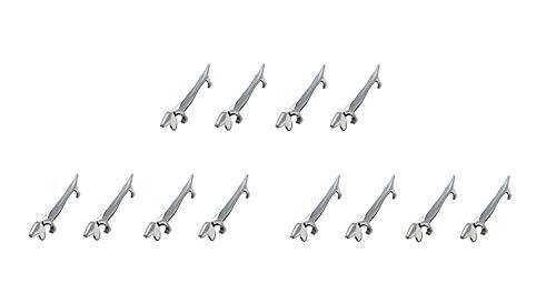 BMTick Silver - Posate per coltello, forchette e cucchiai, 12 pezzi