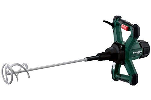 Metabo 614044000 Rührwerk RWE 1020 | + Rührstab Typ RS-R2 | ergonomische Griffe / Gummiecken am Gehäuse / Vario-Elektronik (1020 W | Leerlaufdrehzahl: 0 - 900 /min | 3.1 kg)