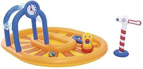 XZQ Aufblasbarer Swimmingpool, Babypool 119cm Garten-Hof Badezimmer Kinder Baby Pool