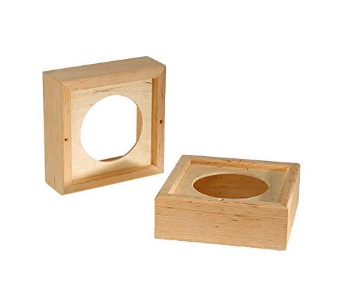 Unbekannt Infraworld Holzrahmen für Sauna-Lautsprecher
