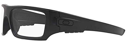Oakley Det Cord 0.75mm Pb Leaded X-Ray Radiation Protection Safety Glasses (Matte Black)