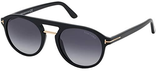Tom Ford Hombre gafas de sol Ivan-02 FT0675, 01W, 52