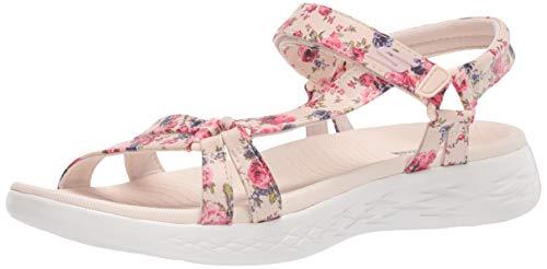 Skechers Damen 140018-NTMT_39 Outdoor sandals, pink, EU