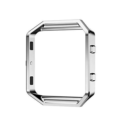 ArgoBear Edelstahl-Metall Link-Uhr-Band-Bügel-Rahmen-Halter-Abdeckung für Blaze Smart Watch