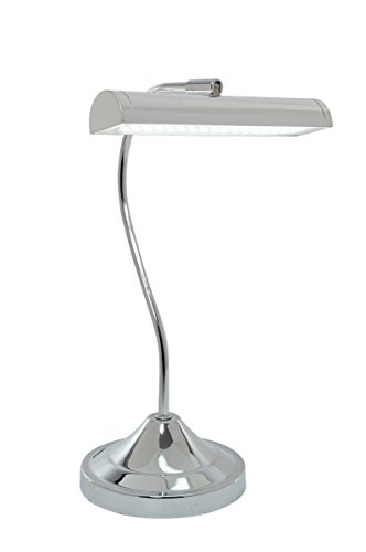 "Lite Source LS-22820C Cady Table Lamp, 8.5"" x 6"" x 14"", Chrome"
