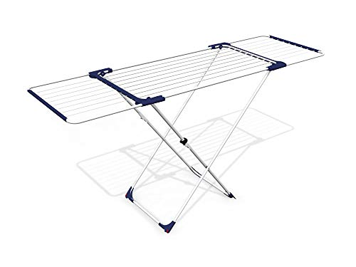 TrendLine Wäscheständer 20 m ausziehbar Wäschetrockner Flügelwäschetrockner
