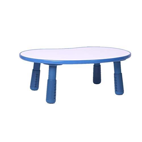 Ramingt-Home speeltafel voor kinderen I kindertafels van hout kleur bureau, tafeldecoratie voor woonkamer (roze blauw wit) Child Study Desk Meubels kinderen