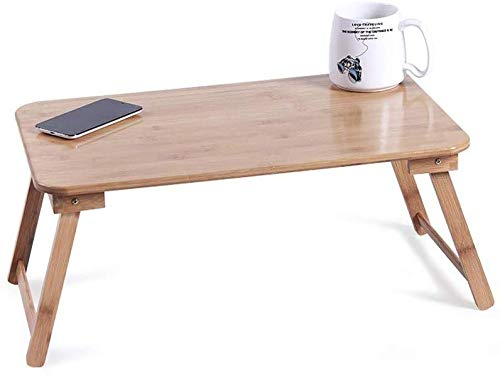 ZXL Bed Bureau, Laptop Tafel Extra Grote Vaste Tafel Benen Voor Leren Office Entertainment (Kleur : Vaste tafelpoten, Maat : M)