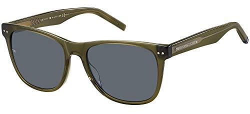 Tommy Hilfiger TH 1712/S Gafas de Sol, Oliva, 54 Unisex Adulto