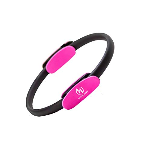 HYPELETICS Pilates Ring Magic Circle - 14 In Exercise rings for thigh...