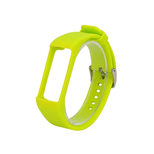 für Polar A370 Smart Watch Sportuhr Armband - Quick Fit Weiches Silikon Sportarmband Uhr Band Strap Ersatzarmband Uhrenarmband für Polar A370 Smart Watch Replacement Strap Watch Band (Gelb)