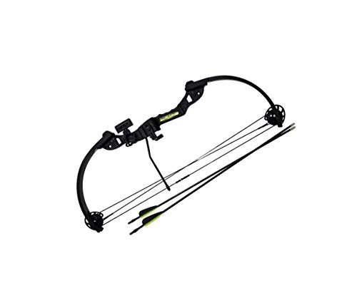 Arco Composto Tom Cat 20-22 lbs - com 2 Flechas 20' - Verde