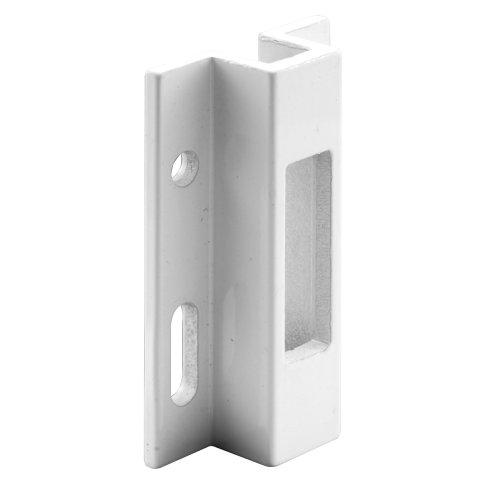 Produits Prime-Line E 2124 Gardien de porte coulissante en aluminium extrudé, blanc