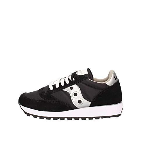 Saucony Originals - Sneaker, Donna, Nero (Schwarz/ Schwarz), 37