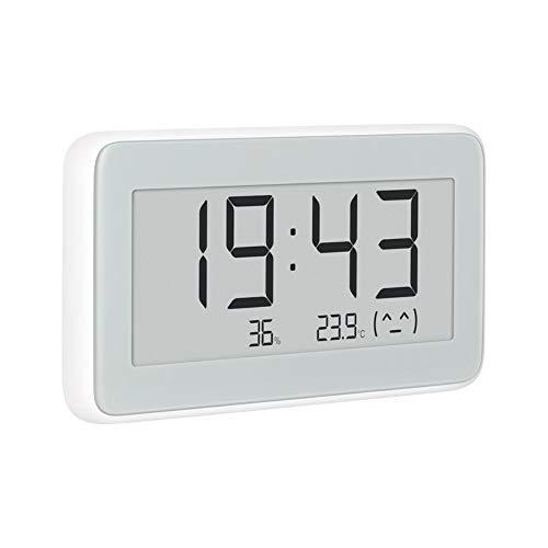 Xiaomi Mijia LYWSD02MMC Reloj de Sobremesa - Medidor Humedad y Temperatura