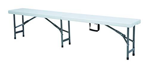 HENDI Buffettisch, klappbar, Platzsparende Aufbewahrung und Transport, Catering Möbel, zusammenklappbar, 1830x300x(H)430mm