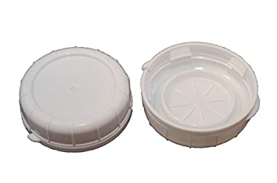 Replacement Caps for Stan-pac & Libbey Milk Bottles- All Sizes (2, 48 MM)