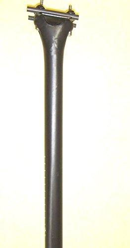 Tija de sillín completa de carbono MTB RR, 31,6 mm, longitu