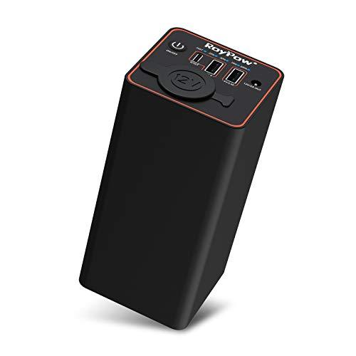 RoyPow ポータブル電源 12Vモバイルバッテリー 大容量 充電バッテリー PD30W 23400mAh 86.58Wh PSE認証 5ポート QC3.0 PD対応 12Vカーチャージャー車載充電器 12V DC 電源提供