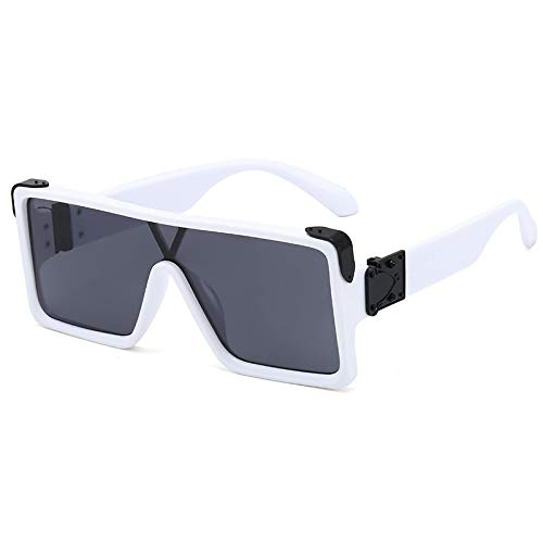 N\P Large frame sunglasses for men and women's conjoined Sunglasses Women's Sunglasses