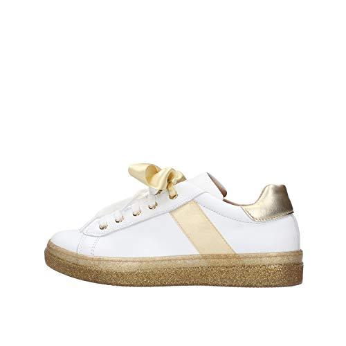 Twin Set Bow Baby Sneaker Bianca da Bambino 201GCJ102