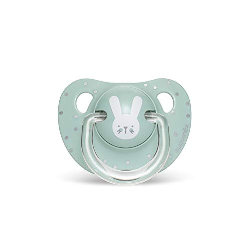 Suavinex - Chupete para bebés 0-6 meses. Chupete con tetina