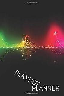 SOUNDWAVE PLAYLIST PLANNER: 100 PAGES - 6 x 9 Inch Playlist Journal - Create dream playlists (ELITIC PLAYLIST JOURNALS)