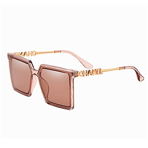 Akaid Gafas de Sol, Gafas de Sol cuadradas Retro clásicas, Gafas de Sol de Gran tamaño para Mujer, Gafas de Sol Negras Retro para Mujer y Hombre
