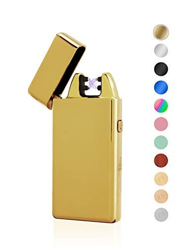 TESLA Lighter T05 Double ARC Gold