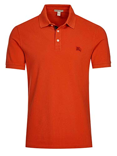 Burberry Poloshirt, Orange Gr. XS, hellorange