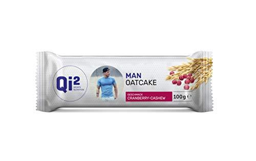 Qi² Man Oatcake Energieriegel Cranberry-Cashew