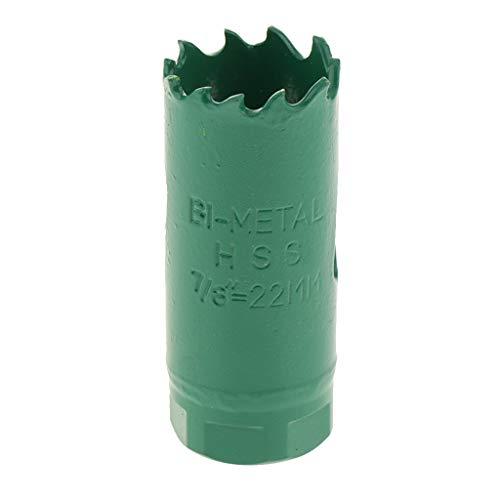 Högkvalitativa hålsågar för trä spånskivor plywood plast gipsskivor och icke-järnmetaller, av stål – 22 mm