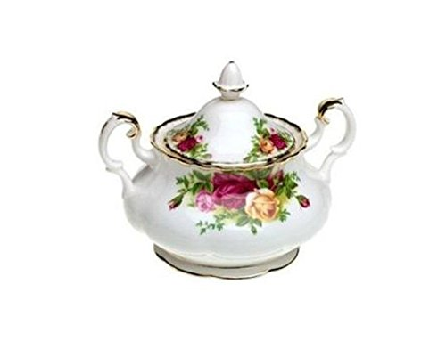 Royal Albert Old Country Roses ZUCCHERIERA Porta Zucchero con Maniglie