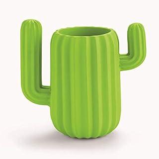 UniM Lot de 3 trousses en toile Motif cactus