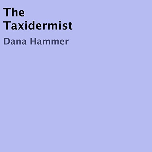 The Taxidermist audiobook cover art